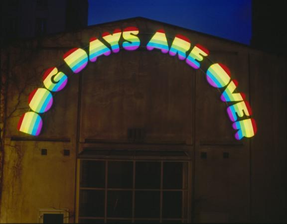 """Dog Days Are Over"", Ugo Rondinone, 1998 | @ Galerie Eva Presenhuber"